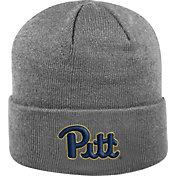 Top of the World Men's Pitt Panthers Grey Cuff Knit Beanie
