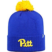 Top of the World Men's Pitt Panthers Blue Pom Knit Beanie