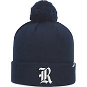 Top of the World Men's Rice Owls Blue Pom Knit Beanie