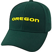 Top of the World Men's Oregon Ducks Green Premium Collection Adjustable Hat
