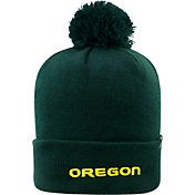 Top of the World Men's Oregon Ducks Green Pom Knit Beanie