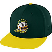 Top of the World Men's Oregon Ducks Green/Yellow Eager Snapback Hat