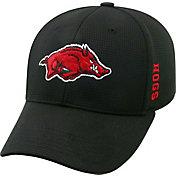 Top of the World Men's Arkansas Razorbacks Black Booster Plus 1Fit Flex Hat