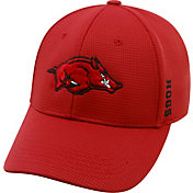 Top of the World Men's Arkansas Razorbacks Cardinal Booster Plus 1Fit Flex Hat
