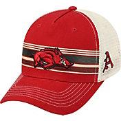 Top of the World Men's Arkansas Razorbacks Cardinal/White Sunrise Adjustable Snapback Hat