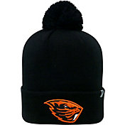 Top of the World Men's Oregon State Beavers Black Pom Knit Beanie
