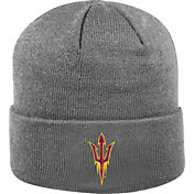 Top of the World Men's Arizona State Sun Devils Grey Cuff Knit Beanie
