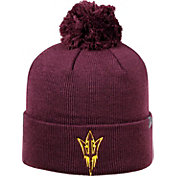 Top of the World Men's Arizona State Sun Devils Maroon Pom Knit Beanie
