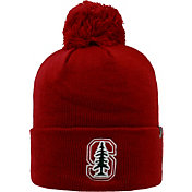 Top of the World Men's Stanford Cardinal Cardinal Pom Knit Beanie