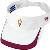 Top of the World Men's Arizona State Sun Devils White Teed Off Visor