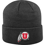 Top of the World Men's Utah Utes Black Cuff Knit Beanie