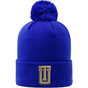 Top of the World Men's Tulsa Golden Hurricane Blue Pom Knit Beanie