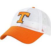 Top of the World Men's Tennessee Volunteers White/Tennessee Orange Mesh Adjustable Snapback Hat