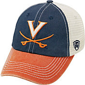Top of the World Men's Virginia Cavaliers Blue/White/Orange Off Road Adjustable Hat