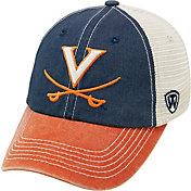 Top of the World Men's Virginia Cavaliers Blue/White/Orange Off Road Adjustable Hat