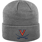 Top of the World Men's Virginia Cavaliers Grey Cuff Knit Beanie