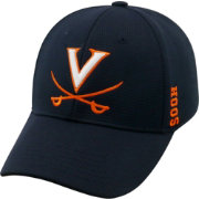Top of the World Men's Virginia Cavaliers Blue Booster Plus 1Fit Flex Hat
