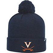 Top of the World Men's Virginia Cavaliers Blue Pom Knit Beanie