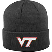 Top of the World Men's Virginia Tech Hokies Black Cuff Knit Beanie
