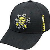 Top of the World Men's Wichita State Shockers Black Booster Plus 1Fit Flex Hat