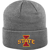 Top of the World Men's Iowa State Cyclones Grey Cuff Knit Beanie