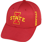 Top of the World Men's Iowa State Cyclones Cardinal Booster Plus 1Fit Flex Hat