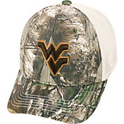 Top of the World Men's West Virginia Mountaineers Realtree Xtra Yonder Adjustable Snapback Hat