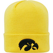 Top of the World Men's Iowa Hawkeyes Gold Cuff Knit Beanie