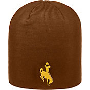 Top of the World Men's Wyoming Cowboys Brown TOW Classic Knit Beanie