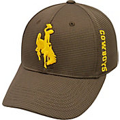 Top of the World Men's Wyoming Cowboys Brown Booster Plus 1Fit Flex Hat