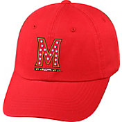 Top of the World Women's Maryland Terrapins Red Radiant Adjustable Hat
