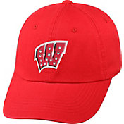 Top of the World Women's Wisconsin Badgers Red Radiant Adjustable Hat