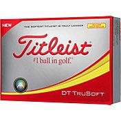 Titleist DT TruSoft Optic Yellow Golf Balls