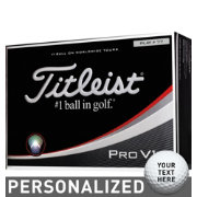 Titleist Pro V1x Double Number Personalized Golf Balls