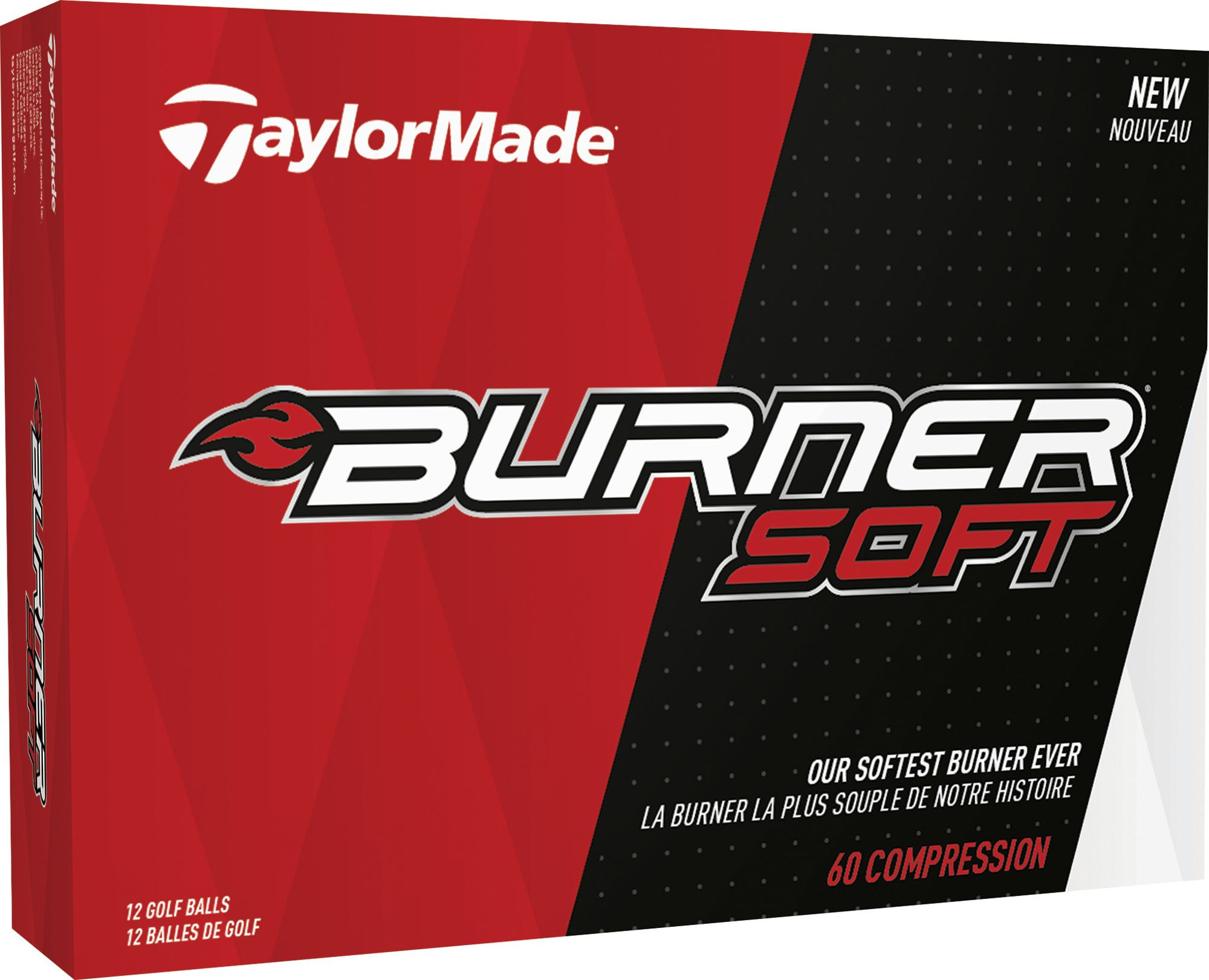 Game on closeouts sporting goods - Product Image Taylormade Burner Soft Golf Balls