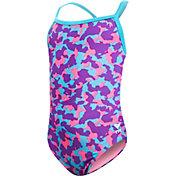 TYR Girls' Hide and Seek Swimsuit
