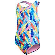TYR Girls' Pluma Maxfit Racerback Swimsuit