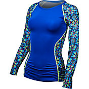 TYR Women's Edessa Aria Long Sleeve Rash Guard