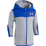 Under Armour Boys' Cozy Full Zip Hooded Fleece Jacket