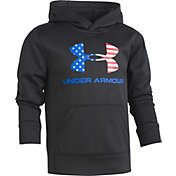 Under Armour Boys' Americana Logo Hoodie