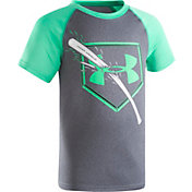 Under Armour Little Boys' Breaking Bat Raglan T-Shirt