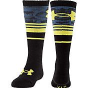 Under Armour Boys' Mountain Big Camo OTC Socks