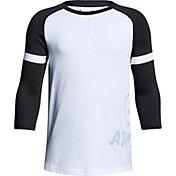 Under Armour Boys' MVP Power ¾ Sleeve Shirt