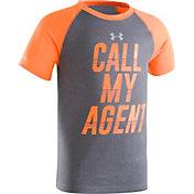 Under Armour Little Boys' Call My Agent Raglan T-Shirt