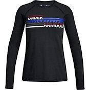 Under Armour Boys' Cross Branded Long Sleeve Shirt