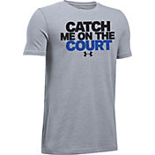 Under Armour Boys' Catch Me On The Court Graphic Basketball T-Shirt