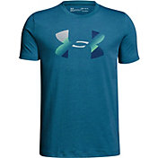 Under Armour Boys' Big Logo Graphic T-Shirt