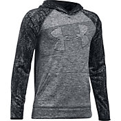 Under Armour Boys' Armour Fleece Novelty Big Logo Hoodie