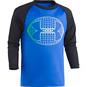 Under Armour Little Boys' Football Big Logo Graphic Long Sleeve Shirt