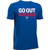 Under Armour Boys' Go Out Swinging Graphic Baseball T-Shirt